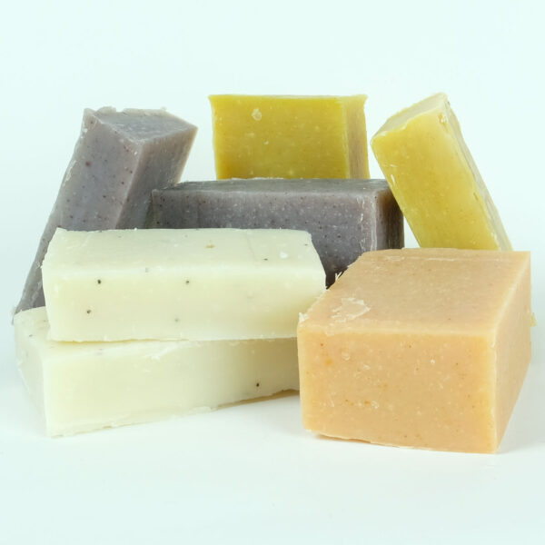 scented soap offcuts loose