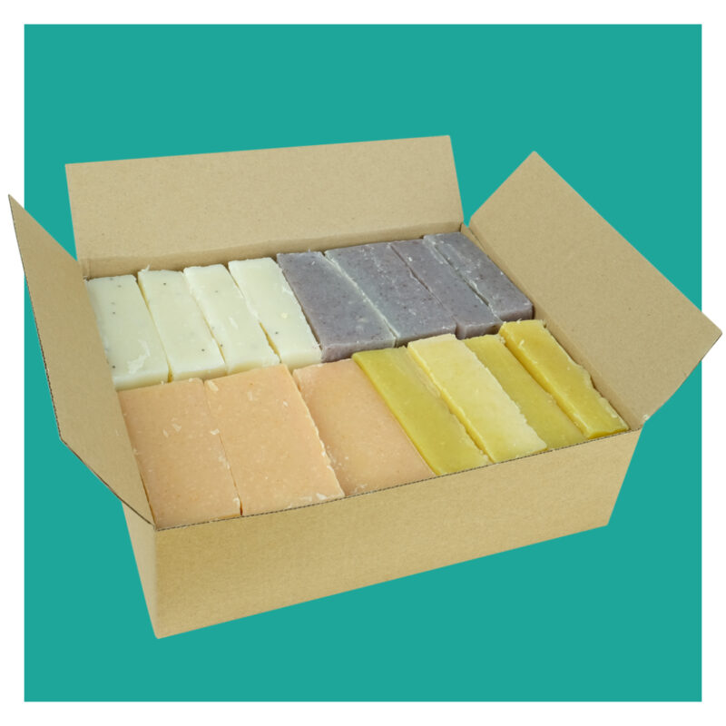 natural soap offcuts