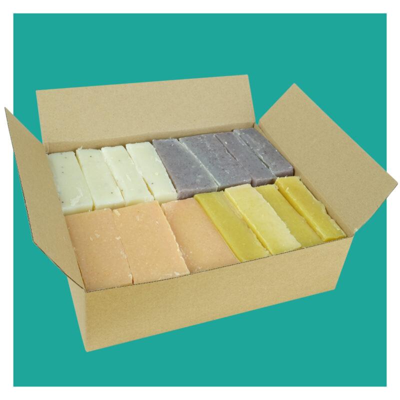 natural soap offcuts